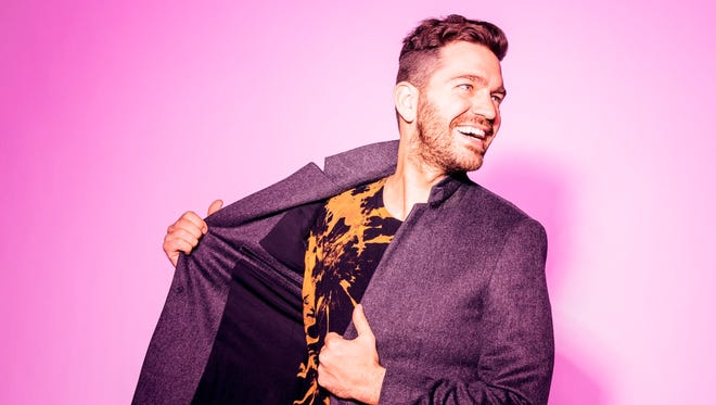 Pop star Andy Grammer is the first concert series headliner announced by the 36th annual QuickChek New Jersey Festival of Ballooning. He will be perform 8 p.m. July 27 on the main stage.