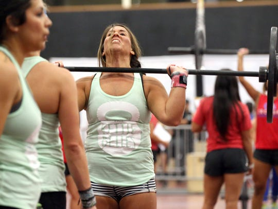 Athletes compete during the Battle of the Bay Expo