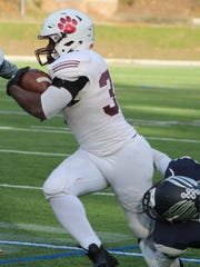 Cranbrok;s junior defensive back Torrell Williams (11)