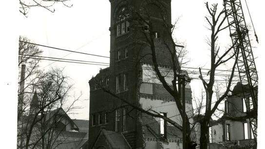 A haunting view of York Collegiate Institute, forerunner