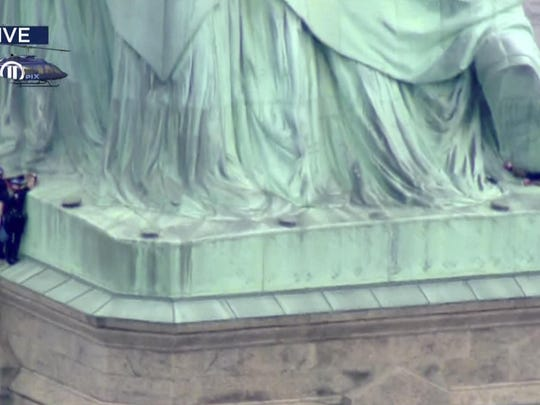 Statue of Liberty Arrests (2)