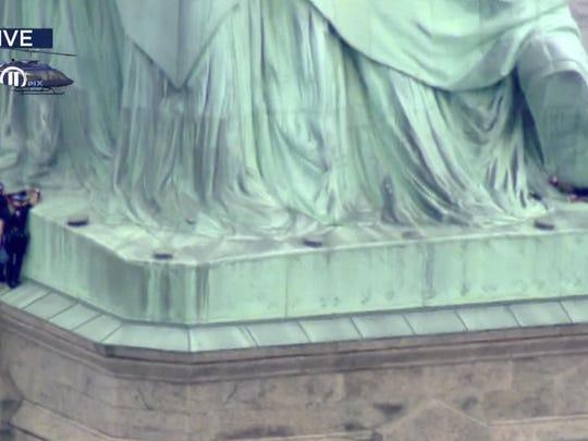 Statue of Liberty Arrests (2)