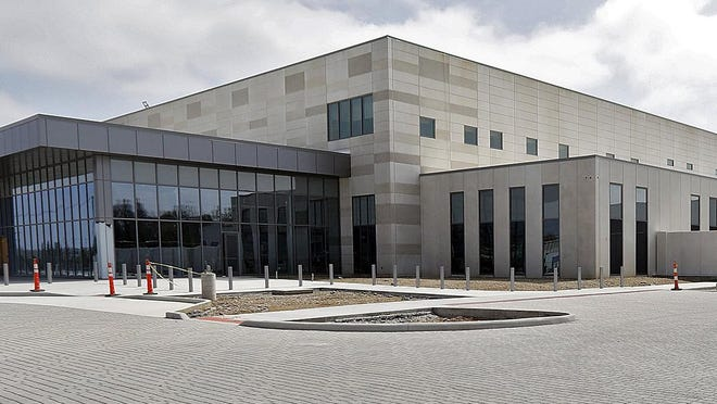 New Franklin County jail on Fisher Road in Columbus on April 8, 2020.