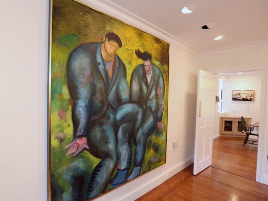 Father and Son by Sandro Chia is part of the art collection