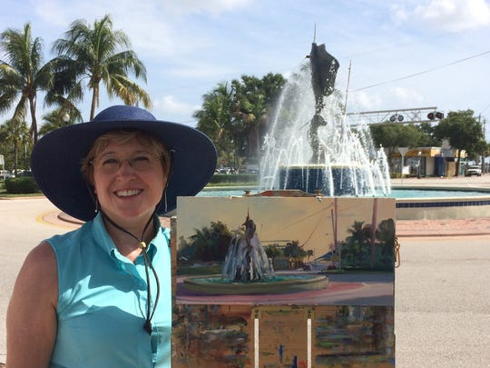 Chris Kling is the featured artist at ArtsFest 2017.