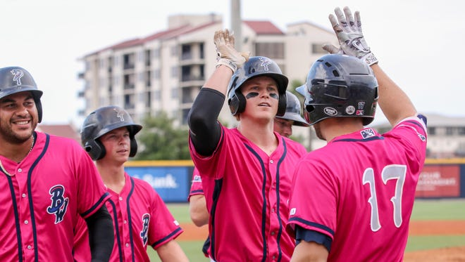 Just days after hitting a grand slam against  Birmingham, Pensacola's Brandon Dixon went 4-for-4 with two home runs against Mobile.