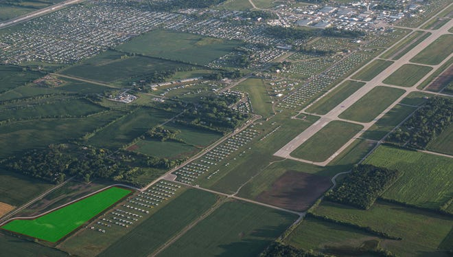 The Winnebago County Board of Supervisors authorized a $10.5 million project Tuesday to reconstruct Taxiway A at Wittman Regional Airport starting next spring.