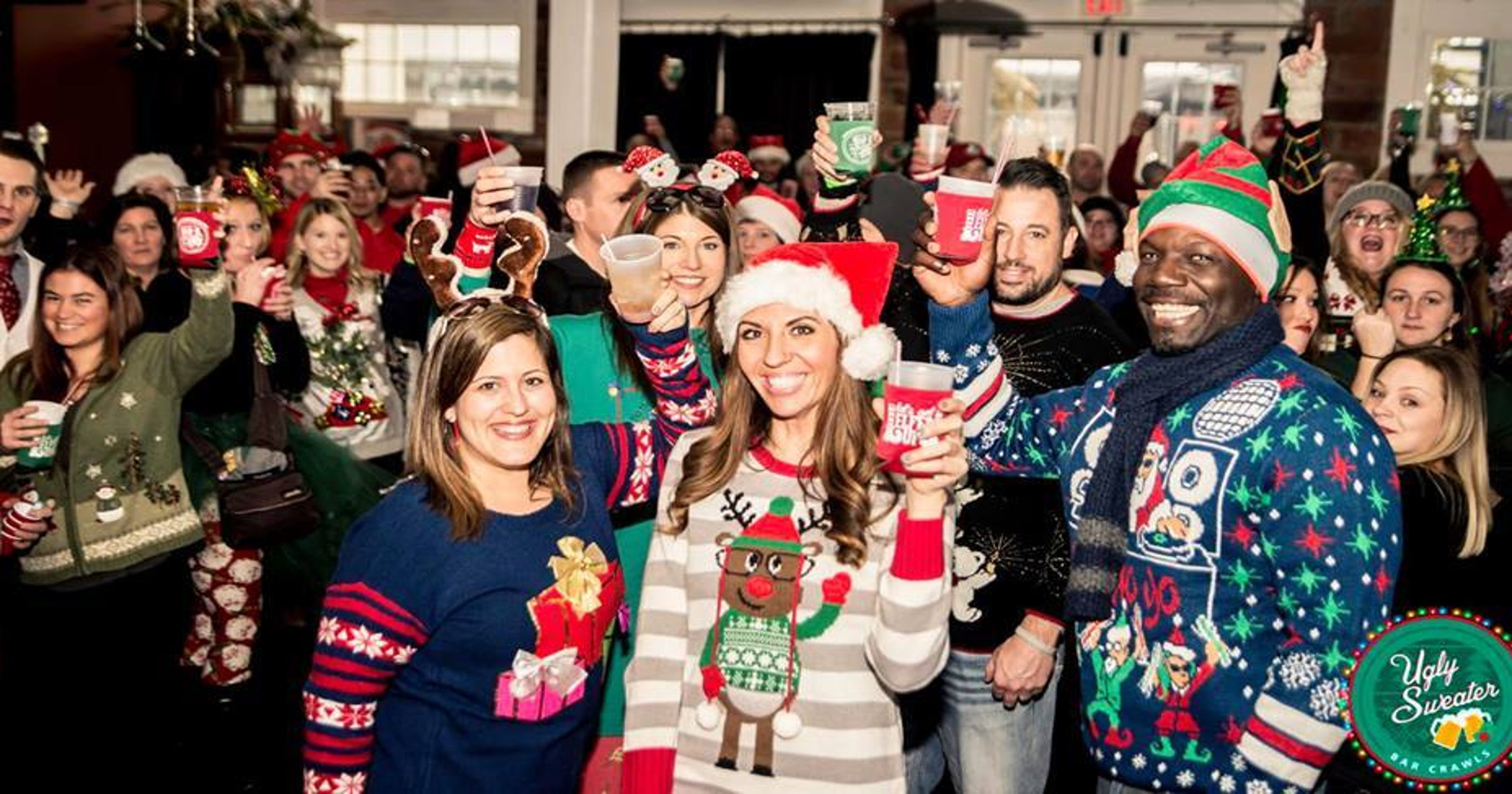 Knoxville\'s Ugly Sweater Bar Crawl: What to know before you go