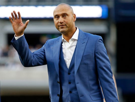 MLB: Houston Astros at New York Yankees - Derek Jeter Would Be Fine With Marlins Taking Knee During Anthem