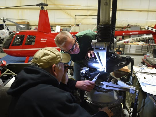"""Helping to restore a Vietnam era helicopter has turned in a passion, a labor of love for veteran Kevin Schnetzka. """"For me, I had a selfish reason, I wanted to fly again,"""" he said. """"But I'm also doing it for these guys, to help give Vietnam vets some closure."""""""