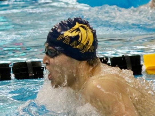 Fraser'sAlex Capizzo won two state championships as