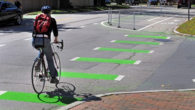Portsmouth's Middle Street bike lanes remain a hot topic in the city.
