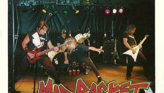Mad Racket, the Green Bay metal band that was a force on the local scene in the mid-2000s, is reuniting to play Friday night for Studio East Revisited at The Stadium View Bar & Grille.