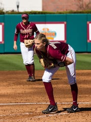 Redshirt senior pitcher Jessica Burroughs has been