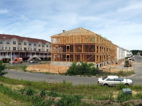 Construction continues on new units on the east side of the West Gate development in Lakewood, which already has more than 1,000 units.