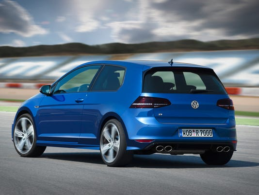 VW Golf R hot-rod hits U S  a year after other markets