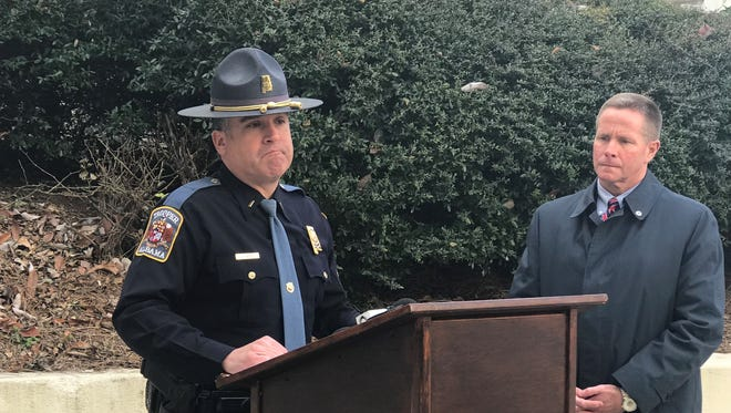 Alabama State Trooper Association President David Steward and Executive Director Neil Tew say an Alabama state trooper shortage is at a critical level.