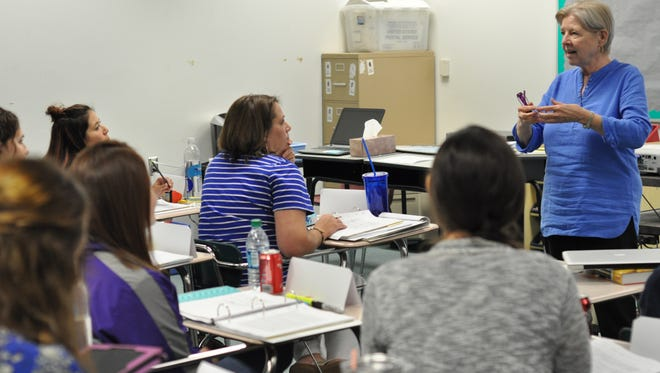 Area high school teachers came together in Pineville this week for the first Advanced Placement Summer Institute to be held in Central Louisiana.