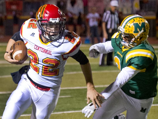 Lance Frost and the Centennial Hawks face Las Cruces