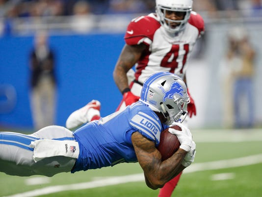 Kenny Golladay, lions vs. cardinals