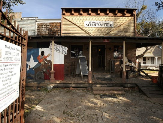 The ownership of the Buffalo Gap Historic Village property