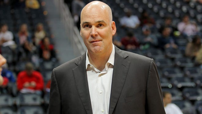 Danny Ferry had been on an indefinite leave of absence since a transcript and audio recording of him making racially and culturally insensitive comments about Luol Deng were leaked last summer.