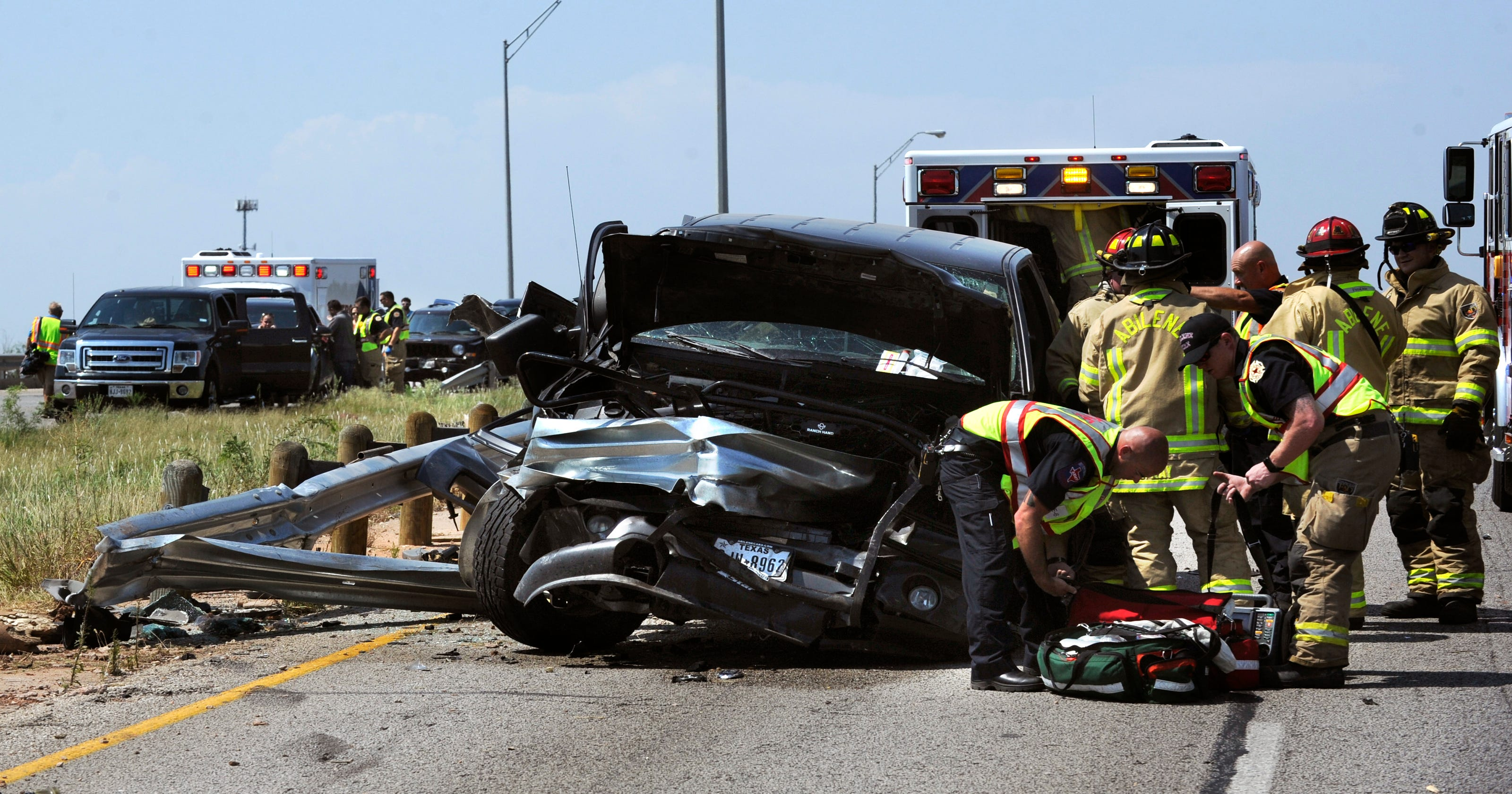 One dead, one injured in multi-vehicle crash on Winters Freeway