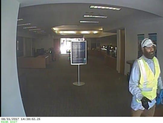 Camarillo police released photos of a man they allege