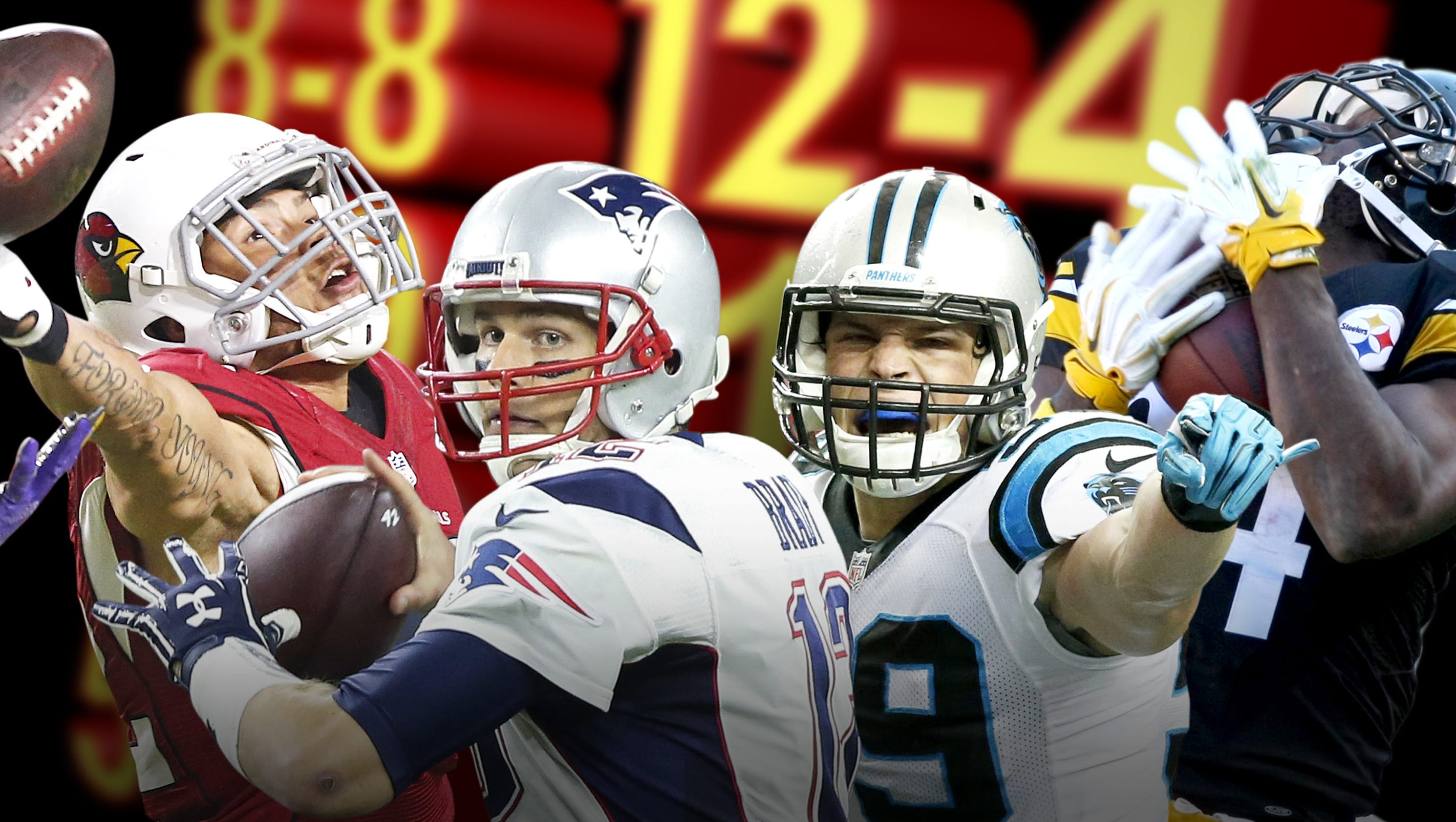 Updated 2016 NFL record projections for all 32 teams as ...