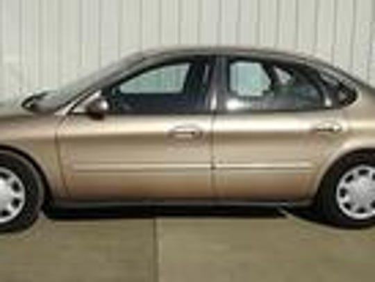 A car similar to this one was driven by a man who allegedly