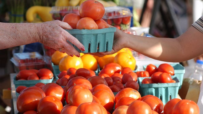 The Fort Pierce Farmers Market is a great place to find last minute gifts or take family members visiting during the holidays.