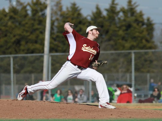 Salisbury's Brett Collacchi is 3-0, with a 2.05 ERA