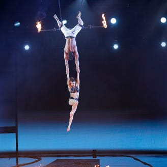 'America's Got Talent': Trapeze act goes wrong, scares the bejeezus out of the judges