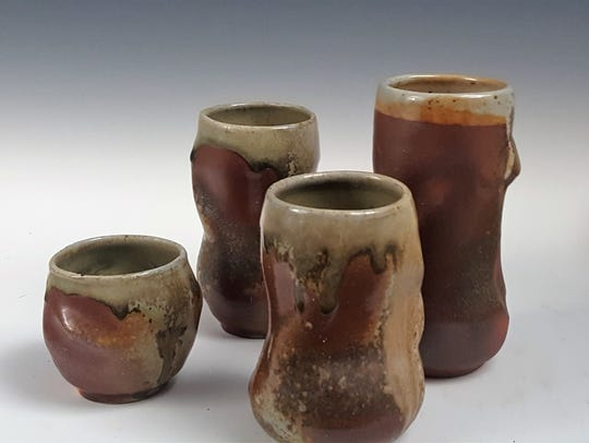Ben Symons will sell mostly functional pottery at the