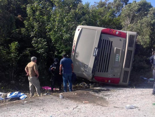 EPA MEXICO ACCIDENT DIS TRANSPORT ACCIDENT MEX