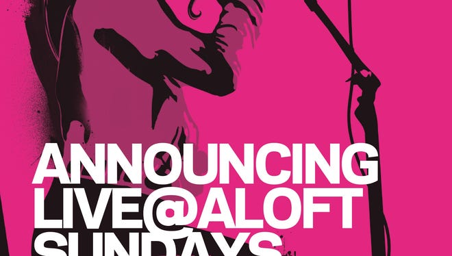 Live @Aloft Hotels will be at 51 Biltmore Ave.