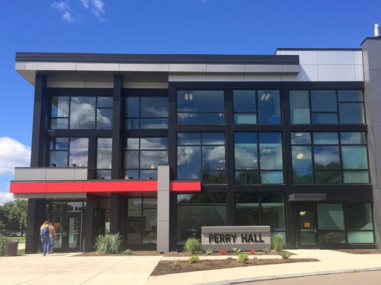 More than 260 of 3,500 students at Corning Community College are staying at Perry Hall, which opened in the fall of 2013.
