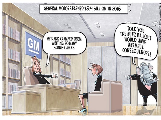General Motors' earnings