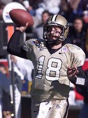 Former Purdue quarterback Kyle Orton.