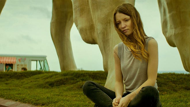 Emily Browning in 'American Gods.'