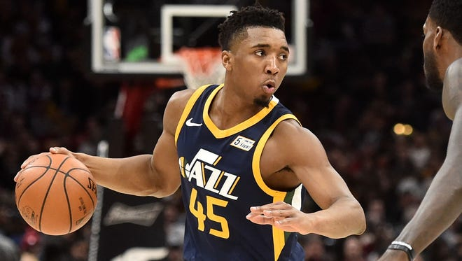 Donovan Mitchell, Utah Jazz — 21