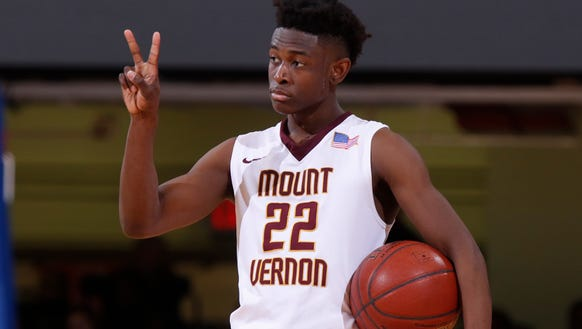 Mount Vernon's Demetre Roberts is a candidate for this year's Super 7.