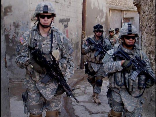 Lt. Gen. Sean MacFarland, as a colonel in Iraq in 2007,