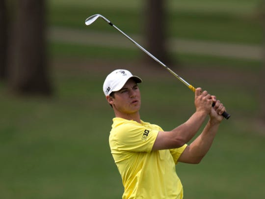 Sophomore Carson Schaake became Iowa's first Big Ten medalist since 1992.