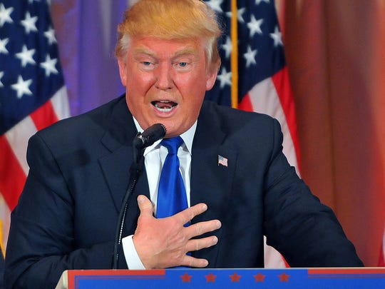 Donald Trump, president-elect