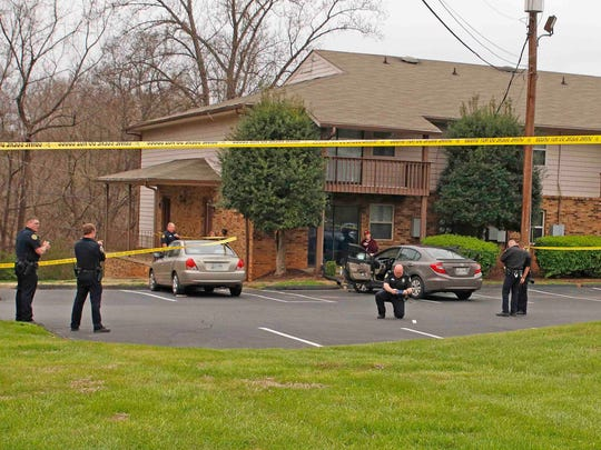 Clarksville Police investigate a fatal shooting at
