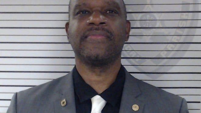Opelousas Mayor Reggie Tatum turns himself in on Friday, Nov. 3.