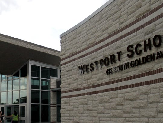 The new Westport Elementary and Middle School opened