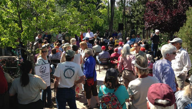 """Continental Divide Trail """"Trail Days,"""" return to Silver City on April 15. The three-day event will include a gear expo and organizational showcase, gear raffles, speakers, book readings, Big Ditch Day events, group hikes, and much more."""