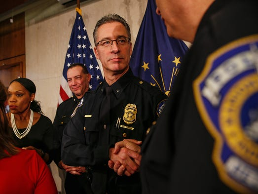 Newly appointed Police Chief of the Indianapolis Metropolitan